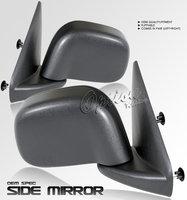 Ram 2002-2006 Manual Mirrors Black