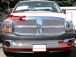 Ram 2006-2008 Mesh Grille Grill Combo