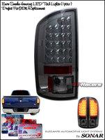 Ram 2007-2008 LED Tail Lights Smoked