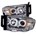 Dodge Ram 02-05 Ccfl Led Projector Headlights - Chrome