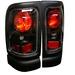 Dodge Ram 94-01 Euro Tail Lights - Jdm Black