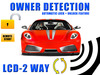 LCD Alarm with Remote Start + Owner Detection