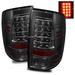 Ram 1500 2009-2010 LED Tail Lights - Smoke