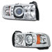 Ram 1994-2001 Halo Projector LED Headlights