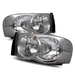 Ram 2002-2005 Headlights - Chrome