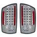 Ram 2007-2008 Altezza Euro LED Tail Lights Chrome