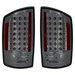 Ram 2007-2008 Altezza Euro LED Tail Lights Smoked