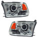 Ram 2009-2010 Projector Headlights Chrome