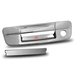 Ram 2009-2011 Tail Gate Handle Cover - Chrome with Key Hole