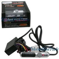 Universal D1 Spec Auto Turbo Timer Silver