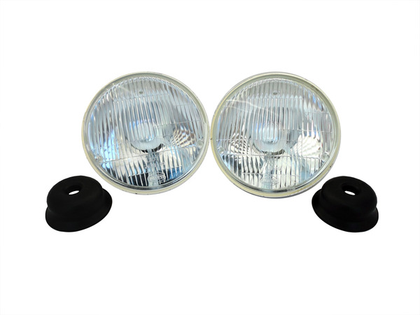 7 inch round upgrade dot approved headlights. Black Bedroom Furniture Sets. Home Design Ideas