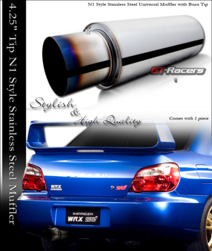jdm burn tip turbo muffler exhaust. Black Bedroom Furniture Sets. Home Design Ideas