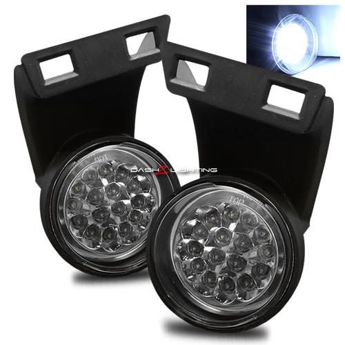 Ram 1994-2001 Hi-Power 16 LED Fog Lights - Chrome