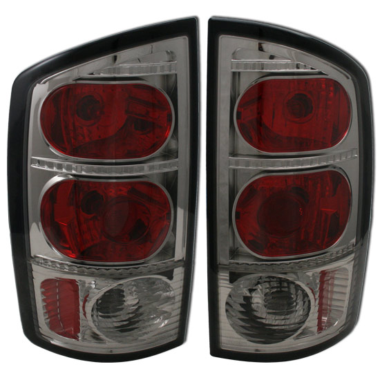 2012 Dodge Ram 1500 Headlights >> Ram 2002-2006 Smoked Cover Tail Lights