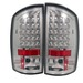 Dodge Ram 02-05 Led Tail Lights - Chrome