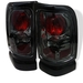 Dodge Ram 94-01 Euro Tail Lights - Smoke
