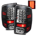 Ram 1500 2009-2010 LED Tail Lights - Black