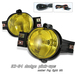 Ram 2002-2008 JDM style Yellow Amber Housing Fog Lights Kit