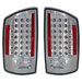 Ram 2007-2008 Altezza Euro LED Tail Lights Chrome
